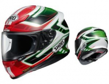 SHOEI NXR VALKYRIE TC-4 GREEN/BLACK  INTEGRALE