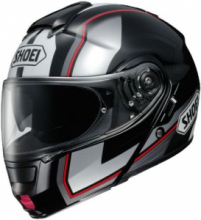 SHOEI NEOTEC IMMINENT SILVER/BLACK TC-5 MODULARE